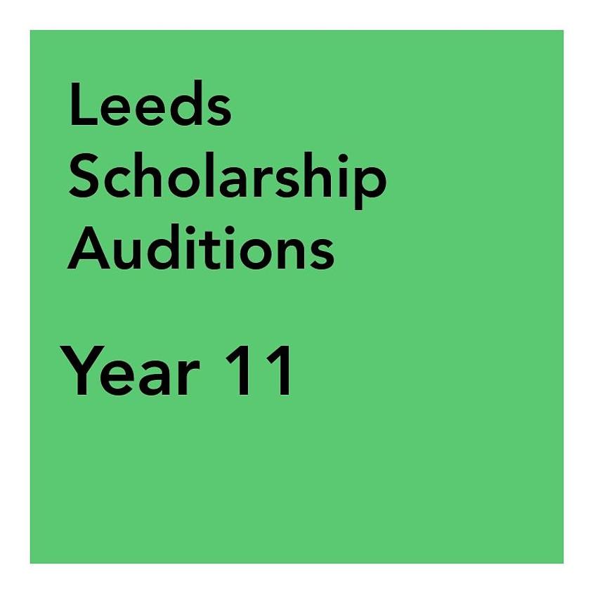 Leeds Scholarship Audition - Year 11 & 12