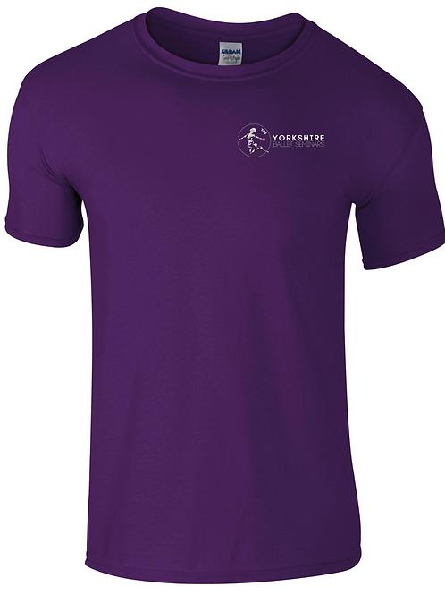Purple, YBS Logo T-shirt 2021