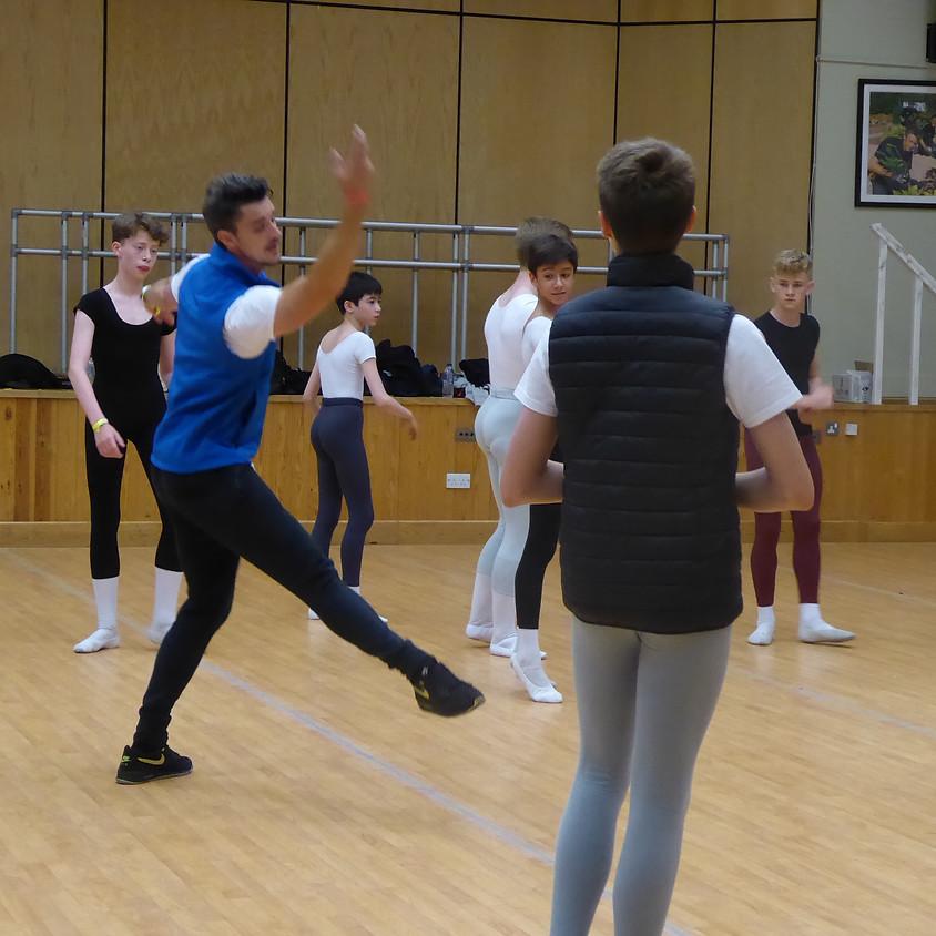 Adult Ballet Class & Rep Masterclass. AGES 20+ Intermidiate Level £40