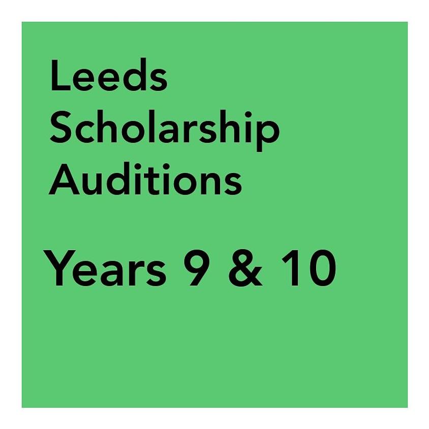 Leeds Scholarship Audition - Years 9 & 10