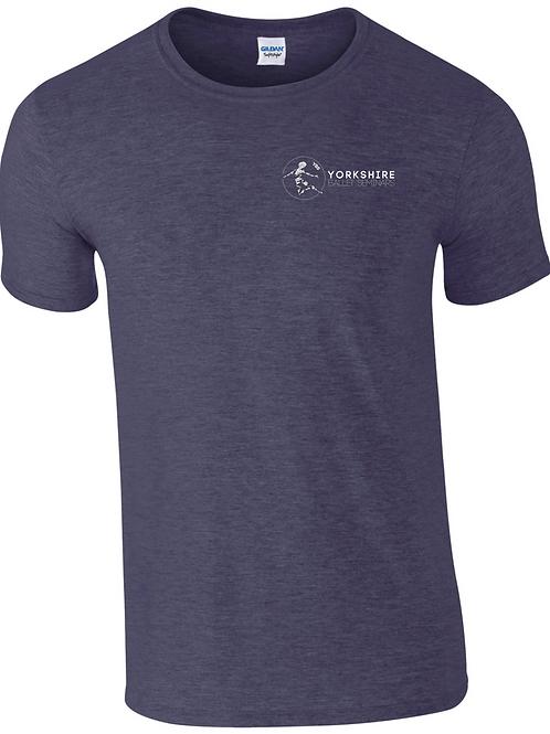Heather Navy, YBS Logo T-shirt 2021
