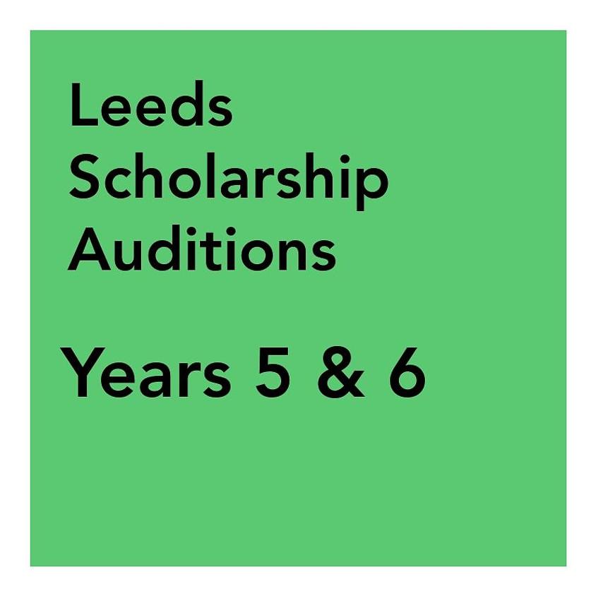 Leeds Scholarship Audition - Years 5 & 6