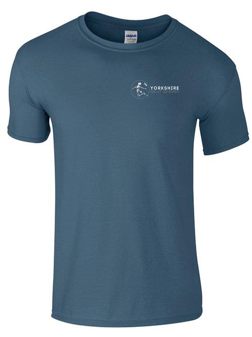 Indigo Blue, YBS Logo T-shirt 2021