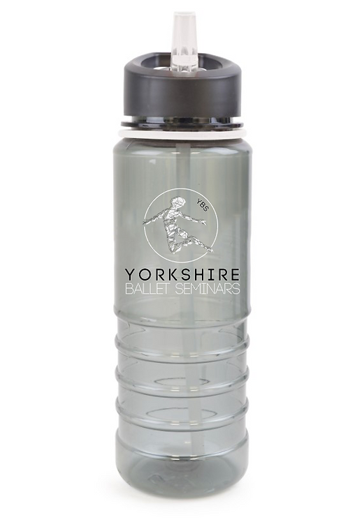 YBS Logo, reusable 750ml Water bottle