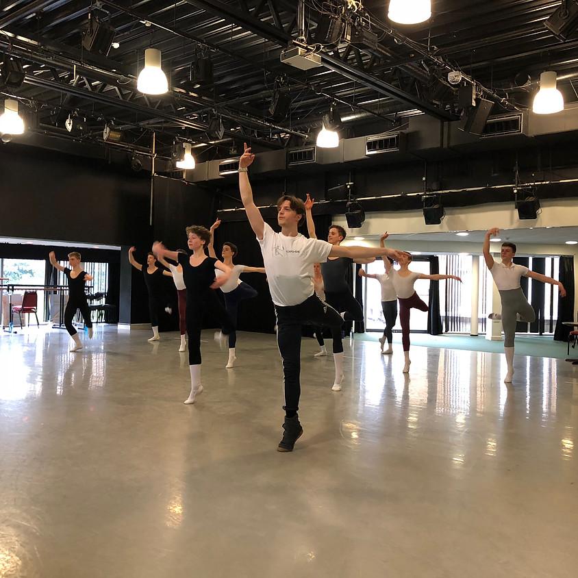 Adult Ballet Class & Solo Masterclass. AGES 20+ Intermidiate/Advance Level £40 (1)