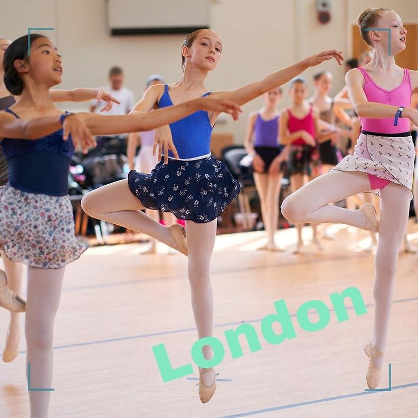 Students Aged 12 & 13 Half Term Pop Up - London Masterclass.
