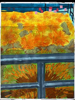 Grass and flower 1 (2020 April 28) Masamitsu Shigeta