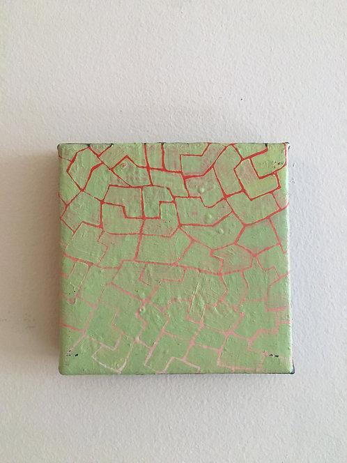 Nicki Koning, Green/Red Pattern