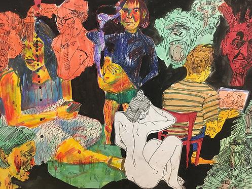 Daphne Knouse, Untitled