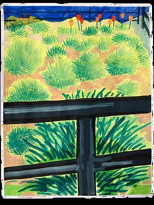 Grass and flower 3 (2020 April 28) Masamitsu Shigeta