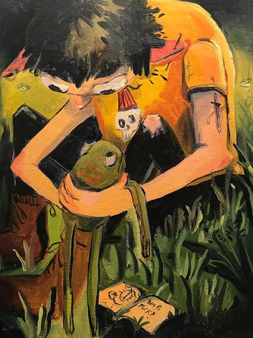 Sam Crohn, Frog Boy