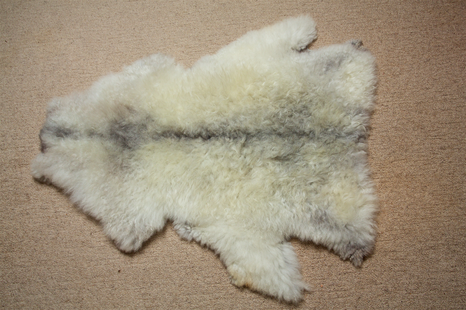 Pelt 2 White charcoal black spine