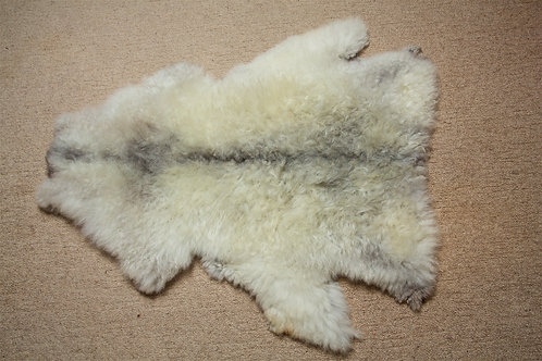 Pelt 2 White with charcoal black spine
