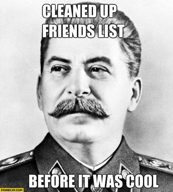 There's no I in team, but there is a U in Gulag