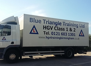 New vehicles to the HGV Training fleet