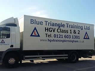 New vehicles to the HGV Training fleet
