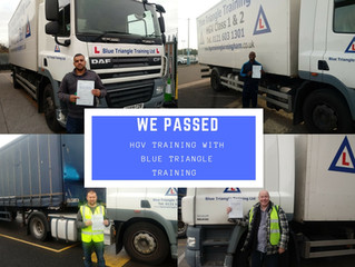 BOOK YOUR HGV TRAINING FOR THE NEW YEAR
