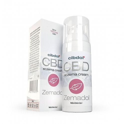 Zemadol (Crème pour l'eczéma) - 100mg de CBD