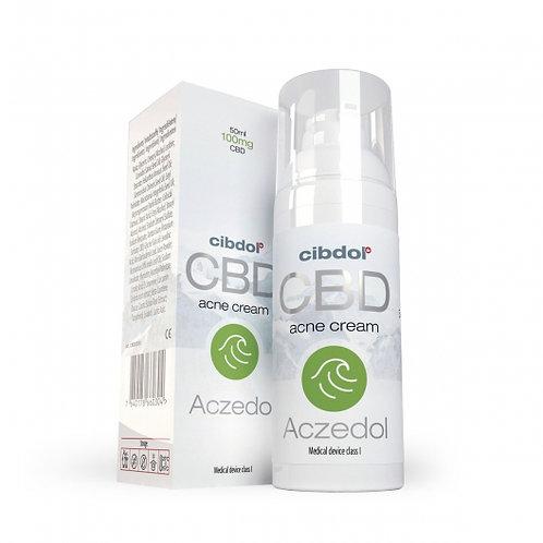 Aczedol (Crème pour l'acné) - 100mg de CBD