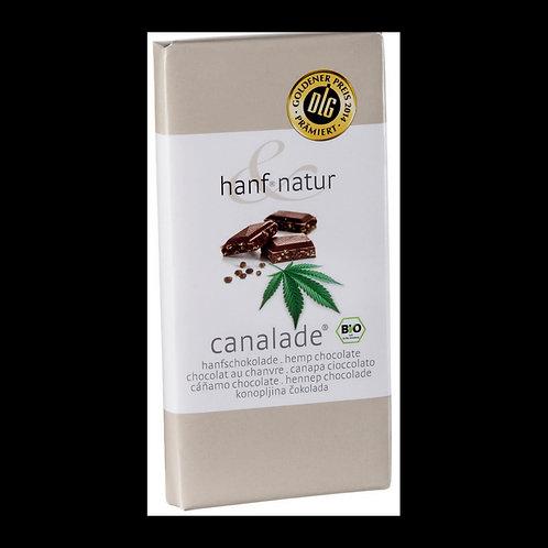 Chocolat au lait fourrée aux graines de chanvres Bio 100g