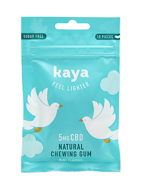 Chewing-gum relaxant - 5mg de CBD