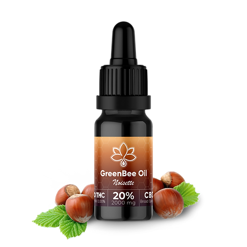 Huile CBD Broad Spectrum noisette 20 %