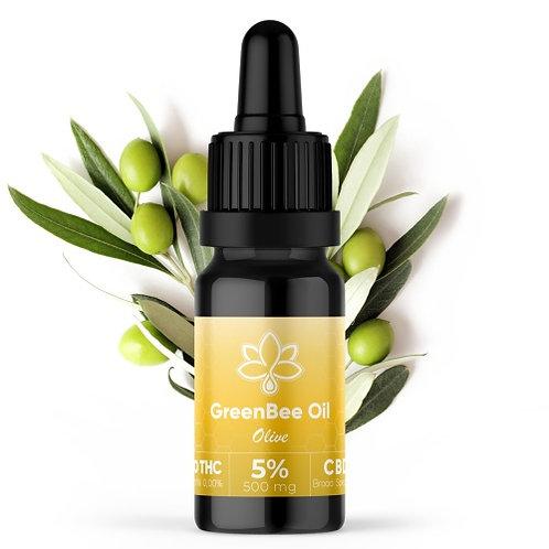 Huile CBD Broad Spectrum olive 5 %