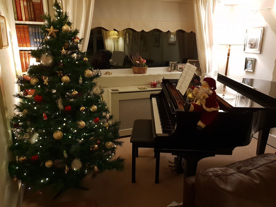 Get that tree away from my piano!