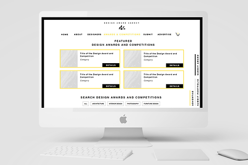 #3 ADVERTISE DESIGN AWARD AND COMPETITION | 30 DAYS