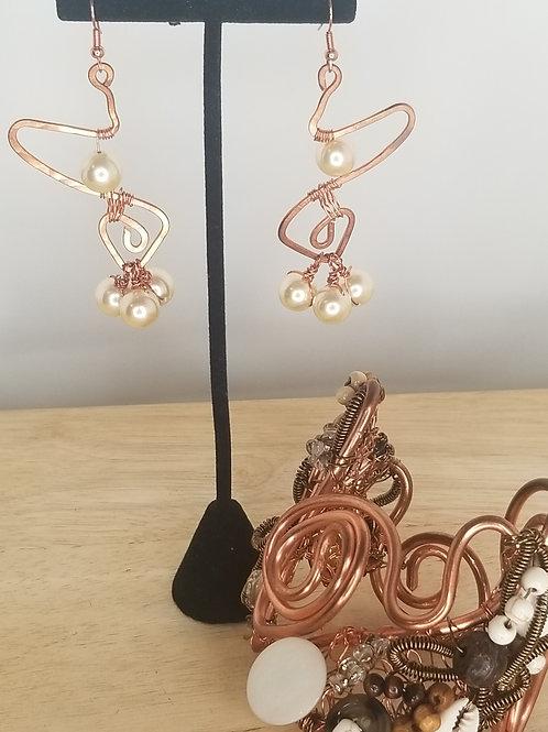 KCFW'2020 Copper Earrings