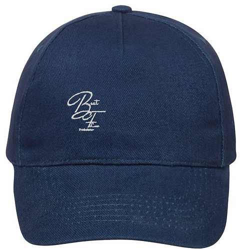 Navy Blue Beatflow Cap