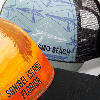Sublimated Hat with Embroidery