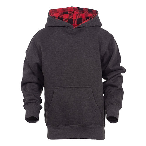 90058 Youth Benchmark Color Block w/ Printed Hood Lining