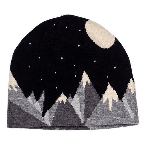 55048 Mountains & Moon Knit Beanie