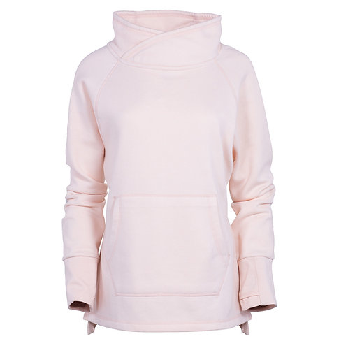 82176 W Cozy Funnel Neck Pullover