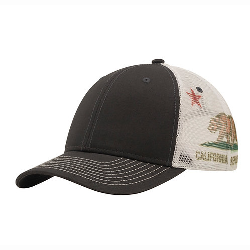 51400 California Flag Sub Mesh - Sublimated Mesh Cap