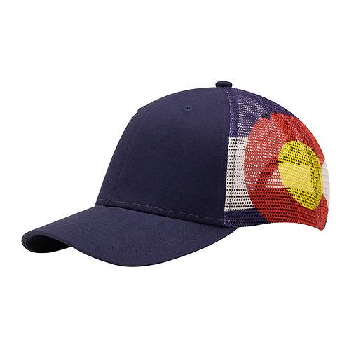 51402 Colorado Flag Sub Mesh - Sublimated Mesh Cap