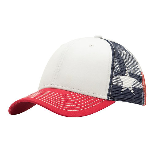 51398 Texas Flag Sub Mesh - Sublimated Mesh Cap