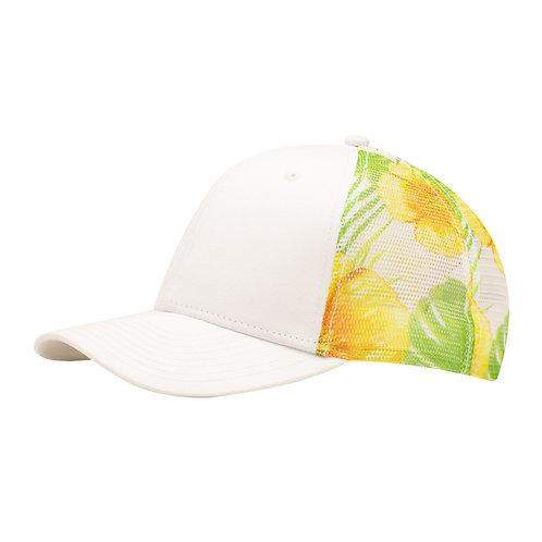 51386 Floral Sub Mesh - Sublimated Mesh Cap