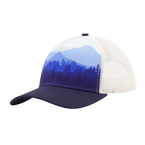 51372 Treeline Blue Vista Sublimated Cap
