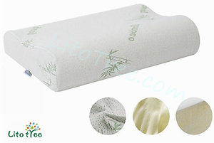 LitoTree Memory Foam Contour Pillow with Removable Washable Soft Bamboo Covers