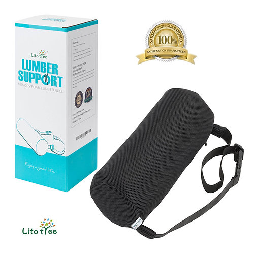 LitoTree Memory Foam Lumbar Support Pillow - 12x4.5 inch Roll