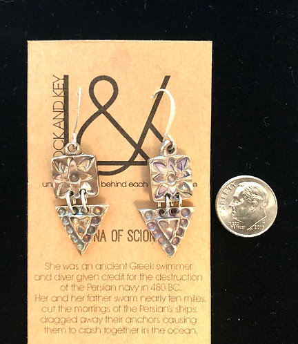 Hydra of Scione Earrings