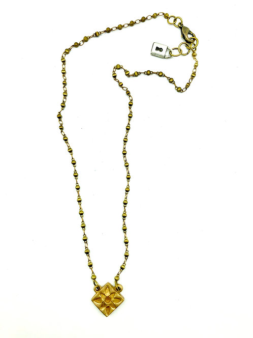 """Hydra Of Scione Bronze Necklace 20"""""""