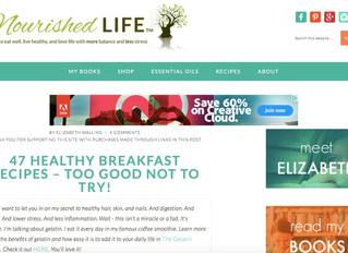 47 Healthy Breakfast Recipes- The Nourished Life