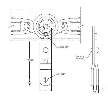 2035.00316 Rigid Clevis Load Pendant