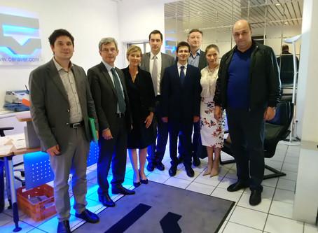 Le Ministère de la Santé russe en  visite à Paris pour rencontrer des industriels français