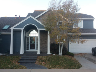 Painting the Exterior of a Beautiful Home in Louisville, CO