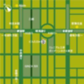 東洋ライスビルB棟地図