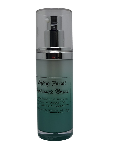 Lifting Facial Hyalurônic NUANCE 30ml